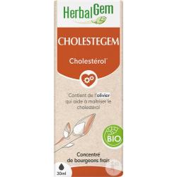 Herbalgem Cholestegem Bio Flacon compte gouttes 50ml gemmothérapie Les copines bio