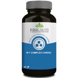 Equi Nutri No 1 Complex Cardio 60 gélules végétales fonction cardiaque conenzyme Q10 Les copines bio