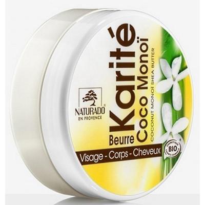 Naturado Beurre de Karité coco monoï hydratation les copines bio