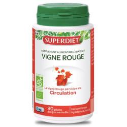 Super Diet Vigne Rouge bio 90 gélules anthocyanosides Les copines bio