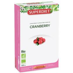 Super Diet Cranberry bio 20 ampoules de 15 ml les copines bio
