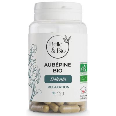 belle et bio Aubépine Bio 120 gélules Crataegus monogyna stress Les copines bio