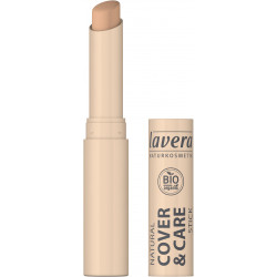 Lavera Stick correcteur Cover and Care n°3 Honey miel  1.7 gr maquillage bio Les copines bio