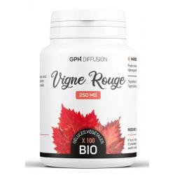 GPH Diffusion Vigne Rouge Bio 250 mg 200 gélules végétales vitis vinifera bio Les copines bio