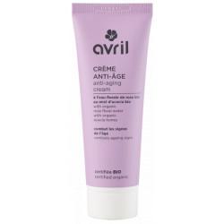 Avril Beauté Crème de jour anti âge 50ml anti-rides eau florale de rose de damas les copines bio
