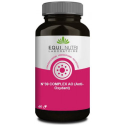 Equi Nutri No 39 Complex AO anti oxydant 60 gélules coenzyme q10 acides aminés les copines bio