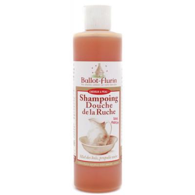 Ballot Flurin Shampoing Douche de la Ruche Propolis 250 ml shampooing douche bio Les copines bio