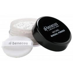 Benecos  Poudre libre minérale Translucide 10gr peaux grasses lissage et perfection Les copines bio