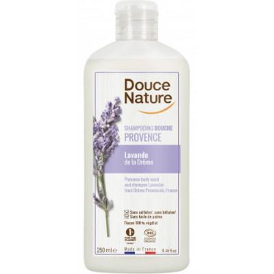 Douce Nature Shampooing Douche lavande bio de Provence 500ml les copines bio