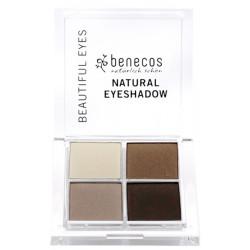 Fard à Paupières 4 Couleurs Coffee et Cream Florame Les Copines Bio Maquillage bio