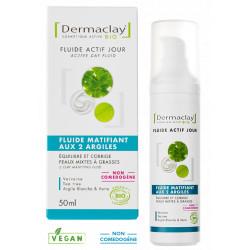 Dermaclay Fluide matifiant aux 2 argiles 50ml