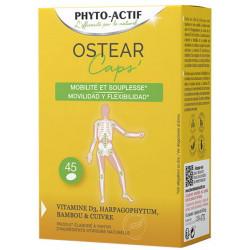 Phyto-actif Ostear Mobilité Souplesse 45 capsules cuivre foie de morue Les copines bio