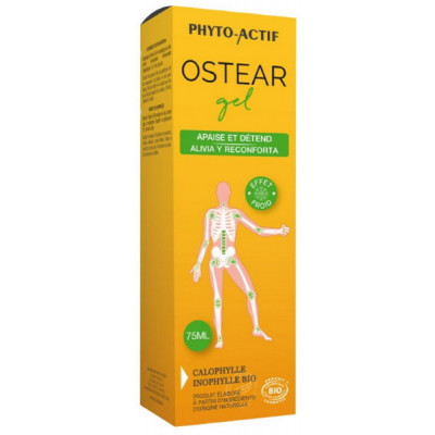 Phyto-actif Ostéar gel à la Calophylle Inophylle 75 ml gel de massage décontracturant froid Les copines bio