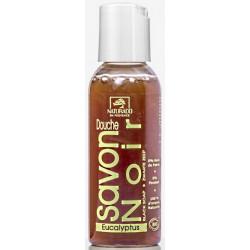 Naturado Savon Noir Douche à l'Eucalyptus 50 ml formule ancestrale savon liquide Les copines bio