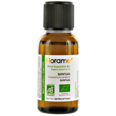 Florame Huile essentielle bio de Ravintsara 30ml cinnamonum camphora défenses naturelles les copines bio