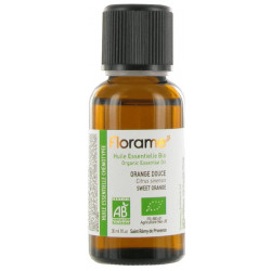 Florame Huile essentielle bio Orange douce 30 ml stress anxiété digestion les copines bio
