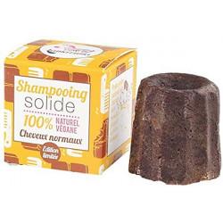 Lamazuna Shampooing solide naturel Cheveux normaux chocolat 55gr les copines bio