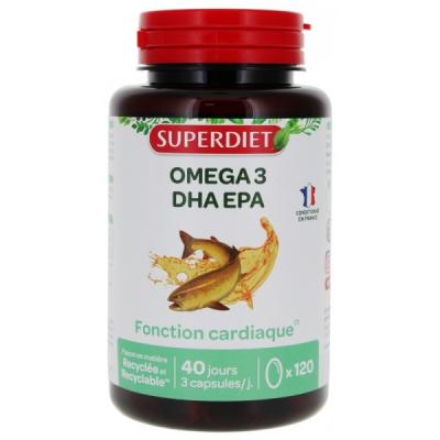 Super Diet Omega 3 120 capsules EPA DHA acides gras essentiels Les copines bio