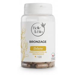 Belle et Bio Bronzage naturel Bixa Carotte Bourrache 120 gélules protection solaire orale Les copines bio