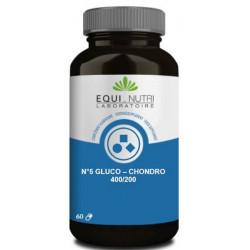 Equi Nutri Gluco Chondro 60 gélules végétales glucosamine chondroïtine Les copines bio
