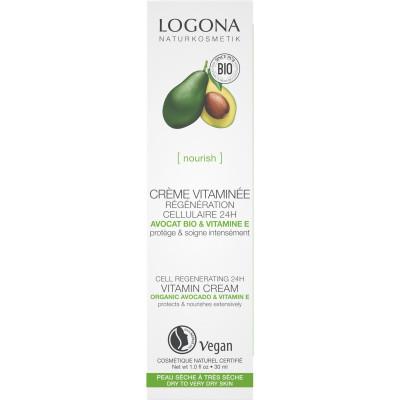 logona Crème vitaminée régénération cellulaire avocat bio 30ml