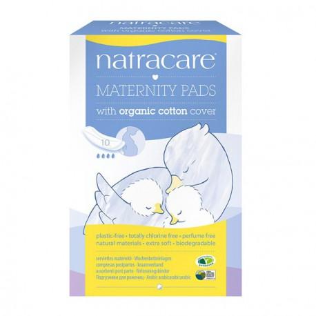 Serviette hygiénique maternité-x 10 - Sans blanchiment au chlore