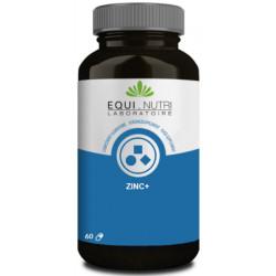 Equi Nutri Zinc plus Pidolate de Zinc 60 gelules nervosité stress les copines bio