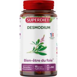 Superdiet Desmodium Bien être du Foie 90 gélules fatigue hépatique Les copines bio