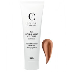 Couleur Caramel Gel bonne mine velours 30 ml No 63 -  Caramel 30 ml Maquillage bio Les Copines Bio.