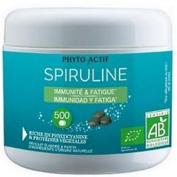 Phyto-actif Spiruline bio Immunité Fatigue 500 comprimés phycocyanine tonus Les copines bio