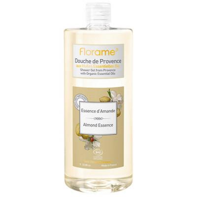 Florame Gel douche de Provence Essence d'Amande 1L gel douche bio les copines bio