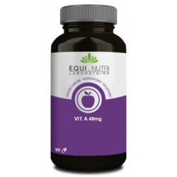 Equi Nutri Vitamine A beta carotene naturel 90 gelules protection cellulaire Les copines bio