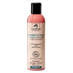 Naturado en Provence Shampoing cheveux colorés sans sulfate 200 ml cheveux colorés brillance Les copines bio