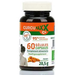 Biocible Curcumaxx C Plus 60 gélules Bio 95 pour cent curcuma pipérine gingembre ortie les copines bio