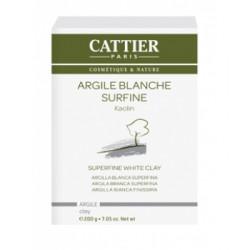 Cattier Argile Blanche Surfine Kaolin 200g Beauté et Bien-être Les Copines Bio.