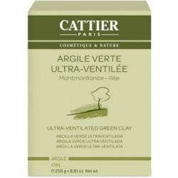 Cattier Argile Verte Ultra Ventilée Montmorillonite Illite 250gr Beauté et Bien-être Les Copines Bio.