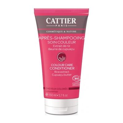 Cattier Après Shampoing couleur 150ml Beauté et Bien-être Les Copines Bio.