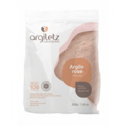 Argiletz Argile rose ultra ventilée peaux sensibles 200gr Beauté et Bien-être Les Copines Bio.