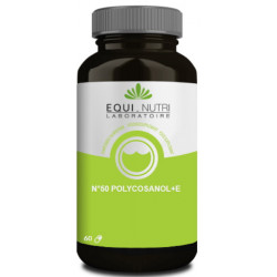 Equi Nutri Polycosanol et Vitamine E 60 gélules végétales cholesterol équilibre sanguin Les copines bio