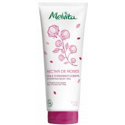 Melvita Voile hydratant Corps Nectar de Roses 200 ml les copines bio