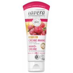 Lavera Crème mains Anti Âge Cranberry et huile d'argan bio 75ml Les copines bio