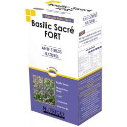 Nutrigee Basilic Sacré fort Anti stress naturel 30 comprimés anti nervosité humeur Les copines bio