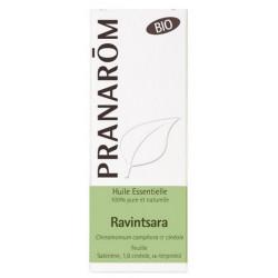Pranarôm Huile essentielle de Ravintsara Bio Flacon 10 ml défenses virus refroidissements Les copines bio