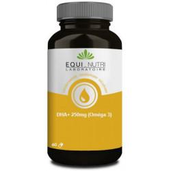 Equi Nutri DHA Plus 250mg Omega 3  - 60 capsules acide gras essentiel les copines bio