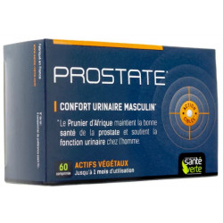 Santé Verte Prostate Confort urinaire 60 comprimés troubles miction homme les copines bio