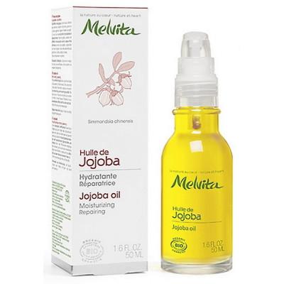 Melvita Huile de Jojoba protectrice - 50 ml hydratation des peaux sensibles les copines bio