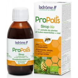 Ladrôme Sirop bio à la Propolis Echinacea Thym 150 ml 11 extraits de plantes défenses les copines bio