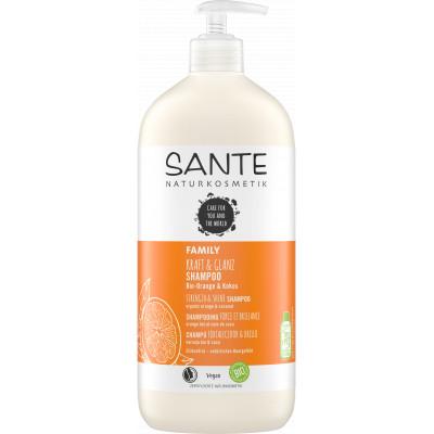 Santé Shampoing Force et Brillance Orange Coco 950ml les copines bio