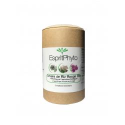 Levure de riz rouge bio 120 gélules - 4 mois de cure monacoline K taux de cholestérol Les copines bio