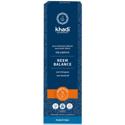 Khadi Shampooing ayurvédique Neem Balance 200ml soin capillaire les copines bio